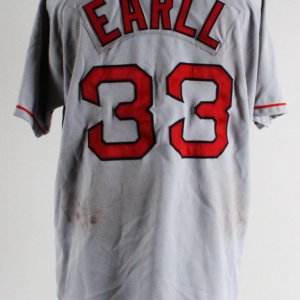 """Mr. 3000"" Boston Red Sox Jersey Uniform Costume as Worn by Earll (Backlot Props)"