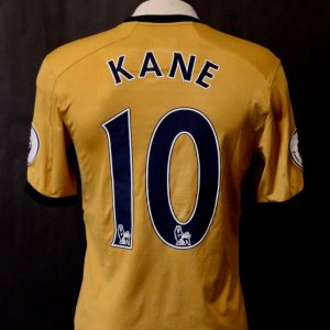 A Harry Kane Game-Used #10 Tottenham Shirt.  2016/17 English Premier League.