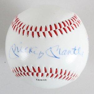 Mickey Mantle Signed  Players Alumni Major League Baseball - JSA