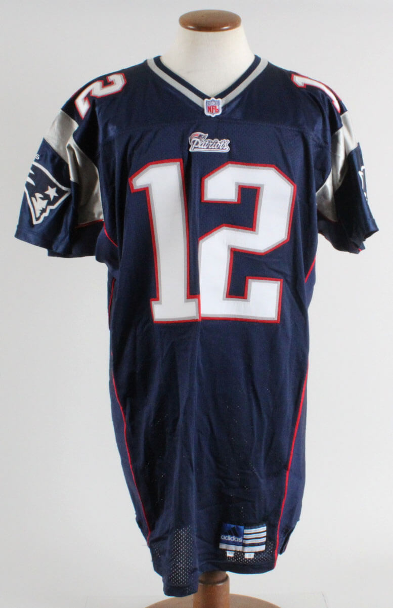 bc29061db0a 2001 Tom Brady New England Patriots Home Game Jersey (Mears A5) |  Memorabilia Expert