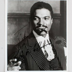 Billy Dee Williams Signed 8x10 Photo - COA JSA