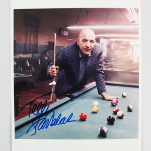 Telly Savalas Signed 8x10 Photo - COA JSA