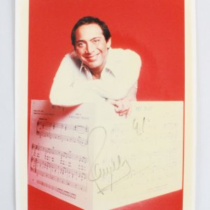 Paul Anka Signed 8x10 Photo - COA JSA
