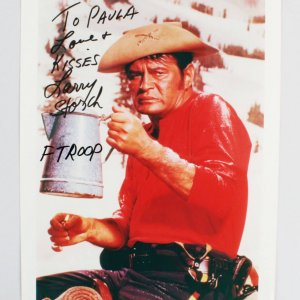 Larry Storch Signed 8x10 Photo - COA JSA