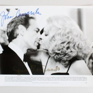 John Cassavetes Signed 8x10 Photo - COA JSA
