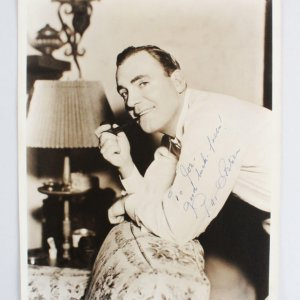 Pat O'Brien Signed 8x10 Photo - COA JSA