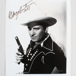 Gene Autry Signed 8x10 Photo - COA JSA