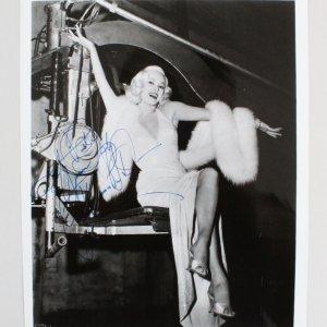 Mamie Van Doren Signed 8x10 Photo - COA JSA
