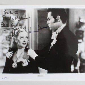 Henry Fonda & Bette Davis Signed 8x10 Photo - COA JSA