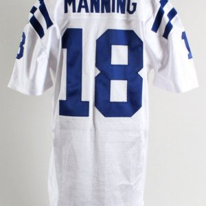 2009 Peyton Manning Game-Worn Indianapolis Colts Jersey - COA PSA/DNA & RGU Photo Match LOA