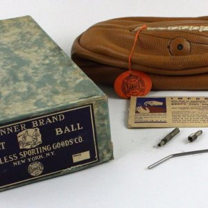 Banner Brand Laced Basketball MIB 1930's Unused
