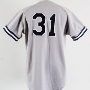 1993 Derek Jeter Greensboro Hornets Game-Worn Jersey Minor League - GRADE 19/20- COA Team LOA & 100% Authentic Team