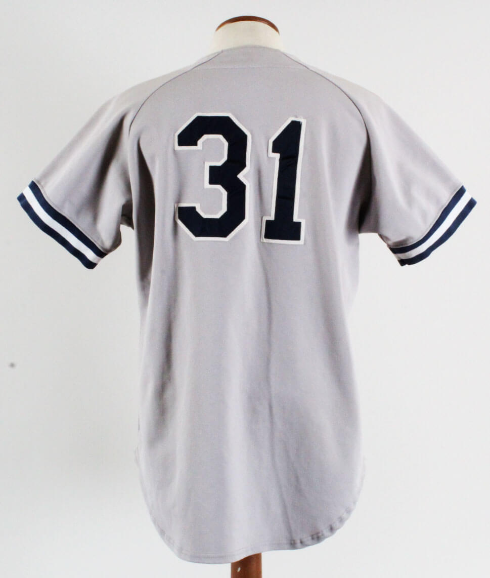 1993 Derek Jeter Greensboro Hornets Game-Worn Jersey Minor League ... 213c2d62a00