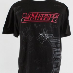 The Ultimate Fighter: Live Multi-Signed Shirt - Team Cruz