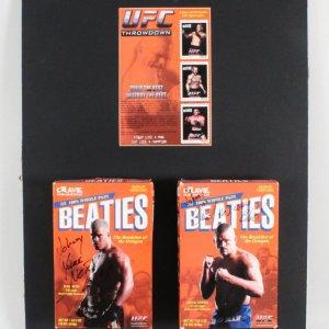 "Chuck Liddell & Tito Ortiz Signed Promo ""Beaties"" Cereal Box - COA JSA"