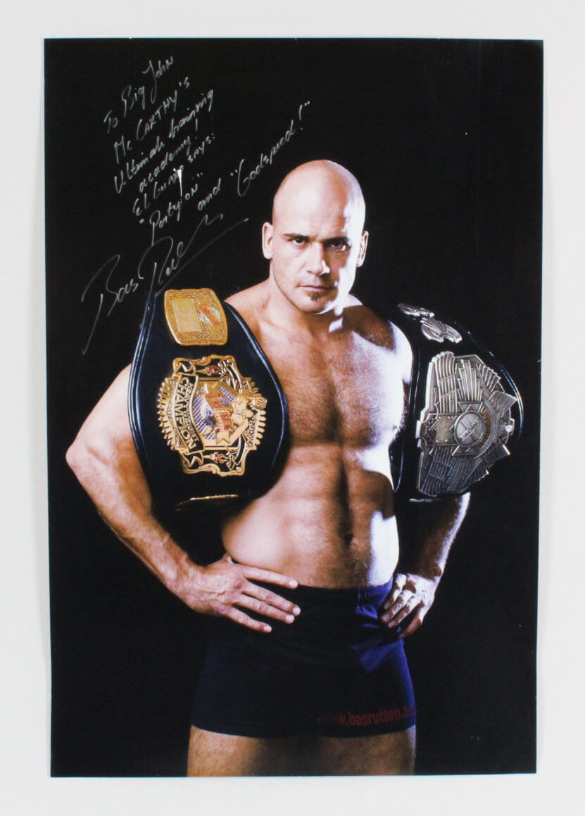 Bas Rutten audio workout