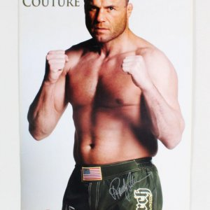 "Randy Couture Signed Xtreme Couture MMA Poster 24""x36""  - COA JSA"