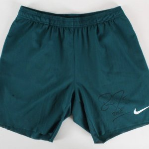 Roger Federer Training Worn Shorts Signed Australian Open