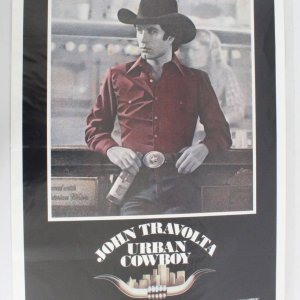 1980 Urban Cowboy Movie Poster One Sheet Movie Poster 800070
