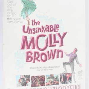 1964 The Unsinkable Molly Brown Movie Poster One Sheet 64/159