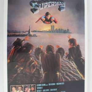 1980's Superman II One Sheet Movie Poster