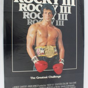 1982's Rocky III One Sheet Movie Poster 820072