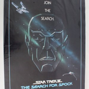1984's Star Trek III The Search For Spock One Sheet Movie Poster 840047