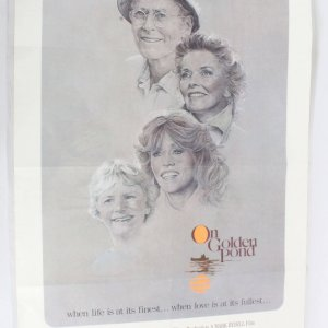 1981On Golden Pond Movie Poster One Sheet 810156