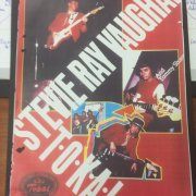 Stevie Ray Vaughan Stage-Used Electric Guitar (Photomatch in Promotional Poster)