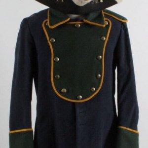"""""""The Patriot"""" Military Uniform Jacket Coat & Hat Costume (Backlot Props)"""