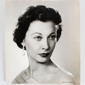 1954 Vivien Leigh Chlorobromide Vintage Portrait By Dorothy Wilding - COA PSA/DNA