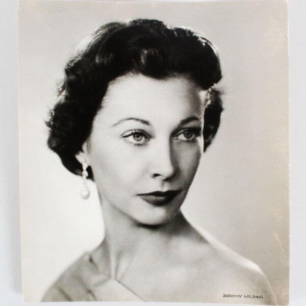 Vivien Leigh Type I Photo Dorothy Wilding Portraits LTD - COA PSA/DNA