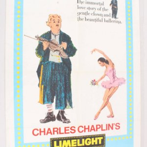 1972 Limelight Movie Poster One Sheet 72/309