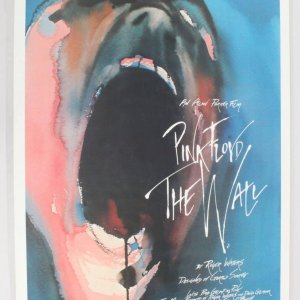 1982 Pink Floyd The Wall Movie Poster One Sheet