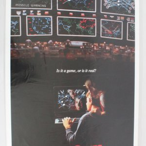 1983 War Games Movie Poster One Sheet