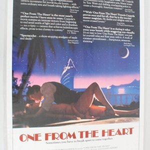 1982 One From The Heart NSS Movie Poster 820058