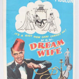 1953 Dream Wife One Sheet Movie Poster 53/117