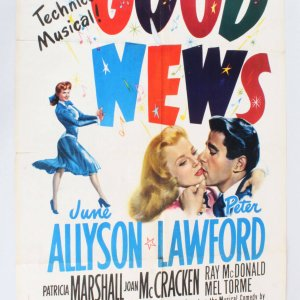 1947 Good News Movie Poster 48-640