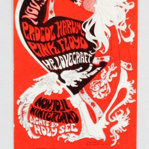 1967 Winterlands Concert Ticket Vintage Day 1