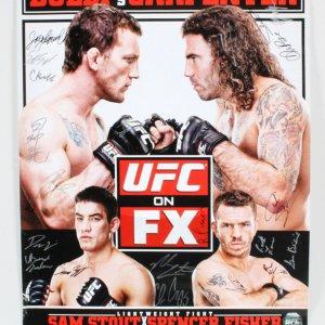 UFC on FX: Maynard vs. Guida Multi-Signed Poster LE 50/125 - COA UFC