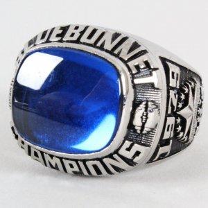 1979 Purdue Boilermakers Championship Ring Bluebonnet Bowl