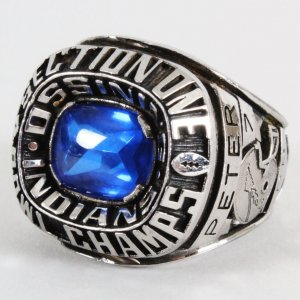 Ossining Indians Football Championship Ring