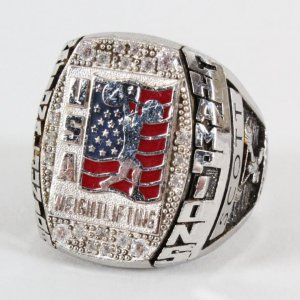 2010 USA Weightlifting National Junior Championship Ring