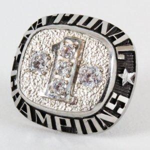 National Champions Pin