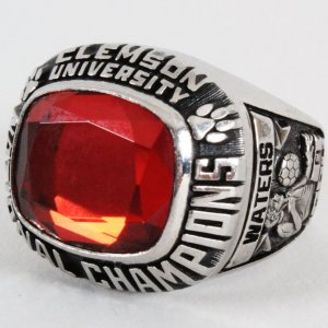 1984 Clemson Tigers Soccer Championship Ring