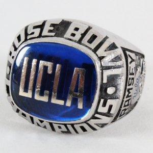 1982 Tom Ramsey UCLA Rose Bowl Ring Salesman Sample