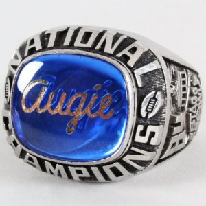 1984 Augustana College Championship Ring Stagg Bowl
