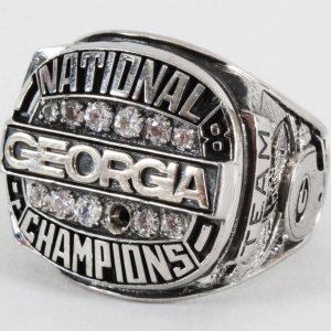 1981 Georgia Bulldogs Championship Ring Sugar Bowl