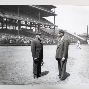 Teenie Harris Photo 16x20 Negro League Umpires