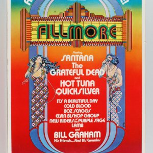 Fillmore Movie Poster- Oversized